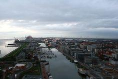 Blick über #Bremerhaven