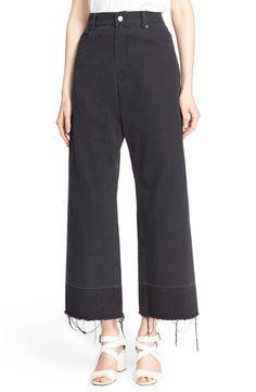 Rachel Comey 'Legion' Wide Leg Denim Pants available at #Nordstrom