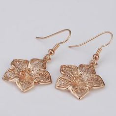 Starlight 18 Karat Gold Plated Earrings