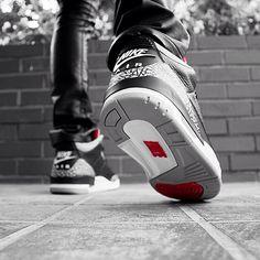 Air Jordan III Black / Cement