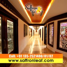 Looking for top class hotel for your next trip to Dehradun? HotelSaffronleaf will provide you all facilities for your trip. Contact @ + 91 135-2521400/01/02