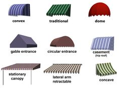 Canvas Window Awnings | courtesy of awningsolutions.net