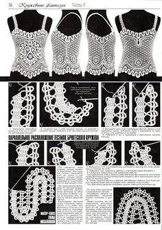 Bruges Lace Crochet Patterns - Duplet magazine #133