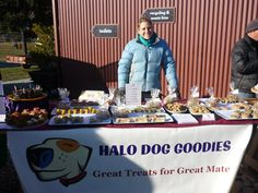 Queenstown dogs love the Halo Dog Goodies stall at the Remarkables Markets in Queenstown! #AmazingAccom #holidayhomes