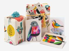 Inaluxe by Earth Greetings - cards and wrap made in Australia from 100% post-consumer recycled paper.