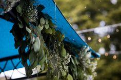 Chuppah greenery found on Modern Jewish Wedding Blog. Photo by Steve Koo.