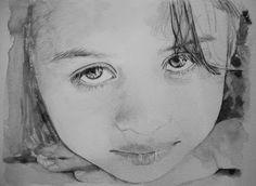 Acoustic Drawings The Shinji Ogata Gallery: A Little Colombian Girl 1/2 コロンビア人の少女 1/2