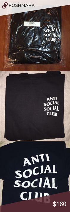 678cdc0f9bdc Anti Social Social Club (ASSC) Mind Games Hoodie 100% Authentic Anti Social  Social