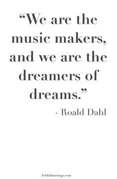 Happy Roald Dahl Day!   Bridal Musings Wedding Blog