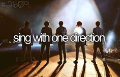 sing with one direction (my everyday dream)