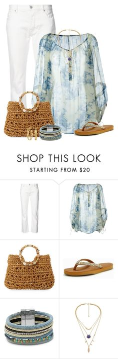"""""""Pretty Peasant Top"""" by stileclassico ❤ liked on Polyvore featuring Nili Lotan, Philosophy di Lorenzo Serafini, Cappelli Straworld, Rocket Dog, Design Lab and Tory Burch"""