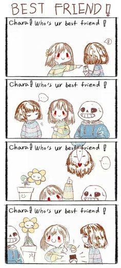 Who's your bestfriend undertale
