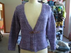 Ravelry: Project Gallery for Basic Chic V-Neck Cardi pattern by Bonne Marie Burns