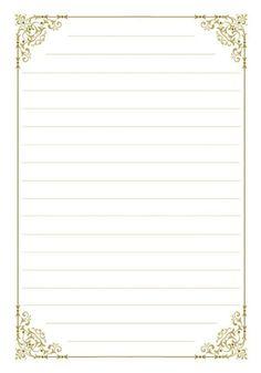 100 Folhas De Papel De Carta Para Imprimir - Online Cursos Stationary Printable, Printable Lined Paper, Vintage Writing Paper, Vintage Paper, Journal Paper, Journal Cards, Notebook Paper, Stationery Paper, Note Paper
