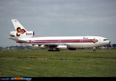Thai International, Thai Airways, Commercial Aircraft, Wide Body, Aircraft Pictures, Picture Photo, Airports, Airplane, Classic