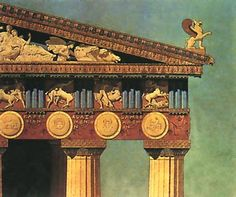 Drawing by Benoit Loviot of part of the Parthenon entablature drawing by Benoit Loviot Paris Ecole Nationale Superieure des Beaux Arts Ecole Nationale Superieure des Bea. Sea Peoples, Classical Period, Sculpture Painting, Fortification, Built Environment, Paris, Ancient Civilizations, Ancient Greece, Art And Architecture