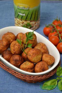 chiftelute-de-naut-falafel Good Healthy Recipes, Vegan Recipes, Cooking Recipes, Healthy Food, Falafel, Appetizer Recipes, Appetizers, Romanian Food, Lebanese Recipes