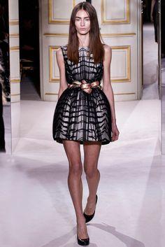 Marine Deleeuw for Giambattista Valli couture s/s 2013