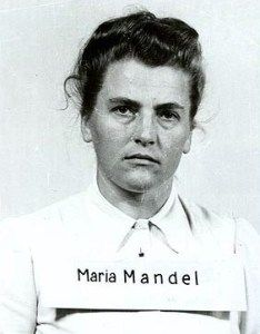 Maria Mandl was one of the head guards at Auschwitz, despite her gender, and was known for her cruelty, which aptly earned her the nickname, The Beast. It's supposed she had her hand in up to half a million deaths. While she was unable to climb the ladder in her field to the very top as a woman, she had absolute control over all the female prisoners and the rest of the female employees.