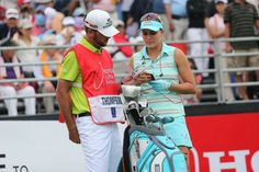 Here is how to caddy for a LPGA Pro golfer. Three Tour Caddy, Rich Schwartz caddied for Rachel Rohanna, a Symetra Tour winner who earned her LPGA Tour card in Lpga Players, Lexi Thompson, Lpga Tour, Pattaya, Professional Women, Ladies Golf, Editorial Photography, Honda, Thailand