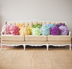 gorgeous pastel cushions