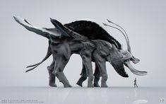 Avatar - Creature Design - 01 (FanArt), Tony Camehl on ArtStation at https://www.artstation.com/artwork/W9YrE