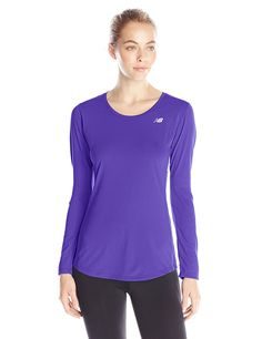 New Balance Women's Accelerate Long Sleeve Shirt ** This is an Amazon Affiliate link. Want additional info? Click on the image.