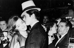 Romy & Alain Delon, ca. 1960