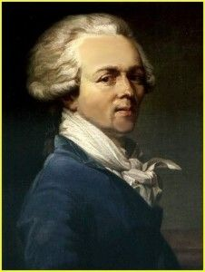 """1793Maximilien Robespierre, a member of France's Committee on Public Safety, initiates the """"Reign of Terror."""""""