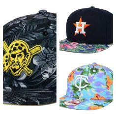 f03603f402c Hawaiin Floral MLB Hats from New Era 5950  hawaiin  baseball  snapbacks   flatbill