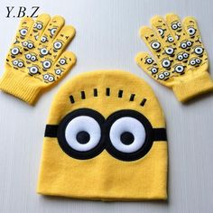 $4.29 (Buy here: https://alitems.com/g/1e8d114494ebda23ff8b16525dc3e8/?i=5&ulp=https%3A%2F%2Fwww.aliexpress.com%2Fitem%2F2pcs-set-Hot-Sale-Children-s-Winter-Cartoon-Minions-Glove-Hat-Sets-Fashion-Kids-Baby-Warm%2F32758206161.html ) 2pcs/set Hot Sale Children's Winter Cartoon Minions Glove Hat Sets Fashion Kids Baby Warm Knitted Caps Spiderman hat gloves E906 for just $4.29