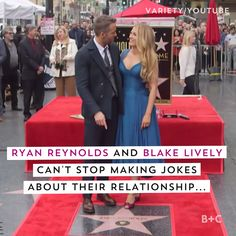 Watch this video for adorable moments of Blake Lively and Ryan Reynolds making jokes about their relationship.