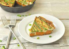 Asparagus and Sweet Potato Frittata!