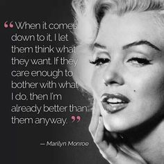 Quotes from Marilyn Monroe