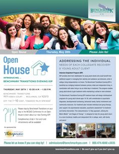 Going to WCSAD? Stop by Benchmark's open house!