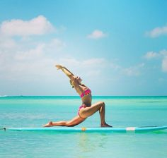 Yoga Pose | Yoga Inspiration | Yogi Goals | SUP Yoga
