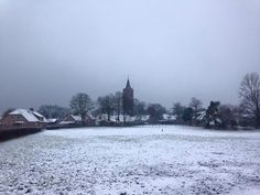 Soest, Holland - in the winter