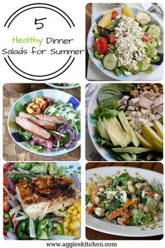 Healthy Dinner Salads for Summer