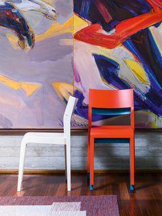Alpha chair by Sculptures Jeux
