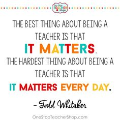 Tips for new teachers to be successful in the classroom. Here are my top teacher tips and lessons I have learned while teaching. Teacher Quotes Quotes for Teachers Teacher Morale, Teacher Education, Education Quotes For Teachers, New Teachers, Quotes For Students, Quotes About Teachers, Thoughts For Teachers, India Education, Education Galaxy