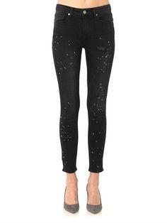 Paige Denim Hoxton high-rise skinny jeans