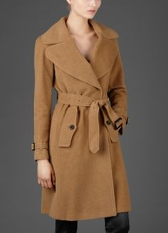burberry camel coat.