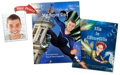 Who wouldn't love one of these? Personalized books including your face and name throughout. Magical  http://www.flattenme.com/us/stories/
