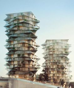 BIG's 'cactus towers' will neighbor a new IKEA in central copenhagen