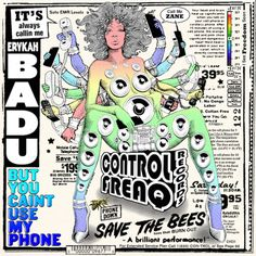 Album Of The Week: Erykah Badu But You Caint Use My Phone - Stereogum