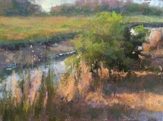 Jacob Aguiar  6x8 pastel field study