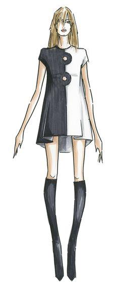 Rachel Zoe sketch