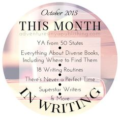 This Month for Writers - October 2015