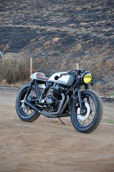 CB750 build by Jarred DeArmas / Seaweed & Gravel Garage