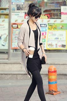 Turndown Collar Long Sleeve Light Grey Spandex Coat